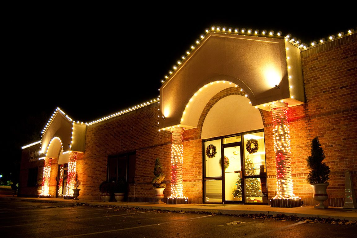 Commercial Holiday Lighting Creative Outdoor