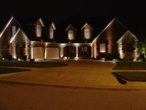 low voltage lighting system by Creative Outdoor Lighting