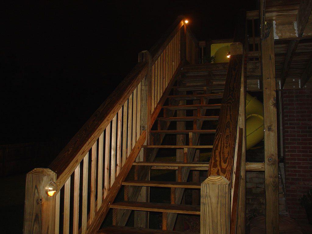 Deck Lighting Creative Outdoor Lighting