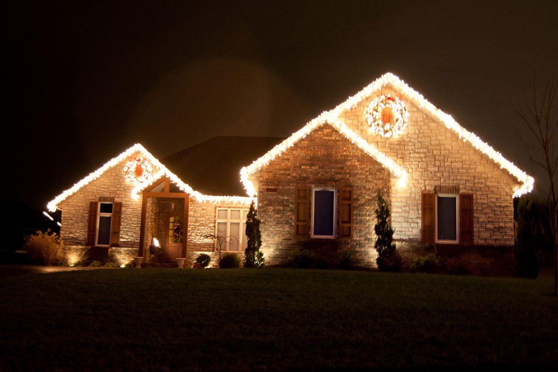 Residential Holiday Lighting Creative Outdoor Lighting